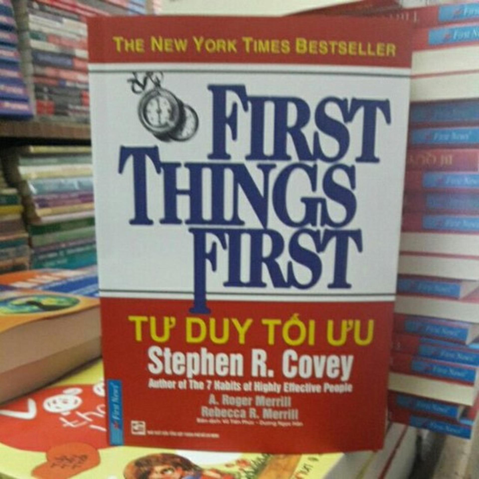 Mua Tư Duy Tối Ưu - First Things First chất lượng cao