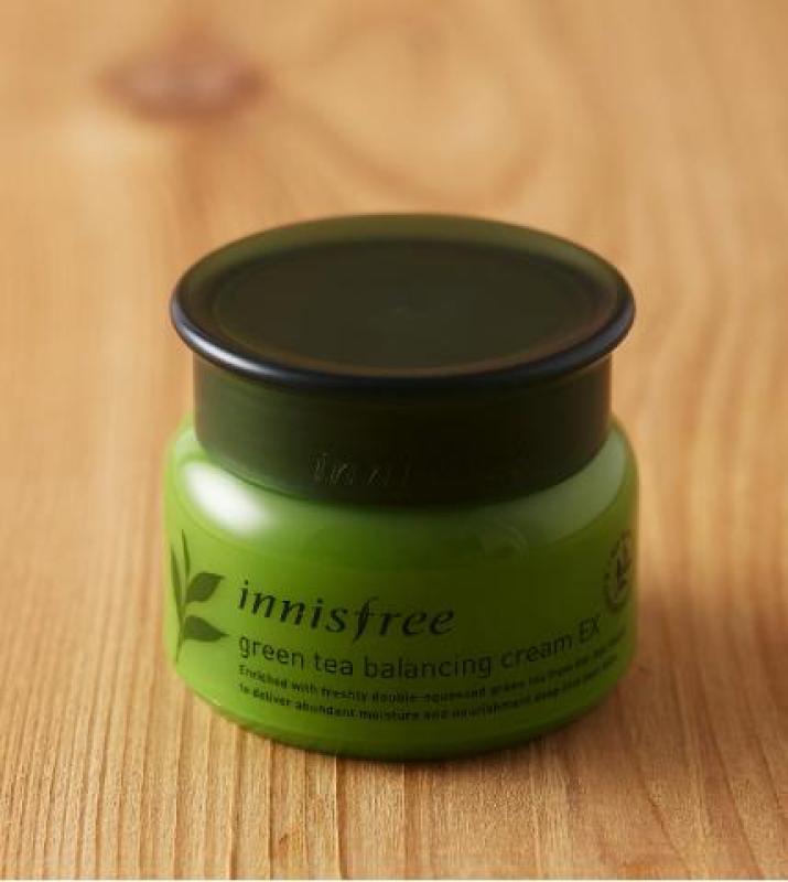 [MẪU MỚI 2018] Kem dưỡng ẩm da từ Trà Xanh Innisfree Green Tea Balancing Cream EX cao cấp