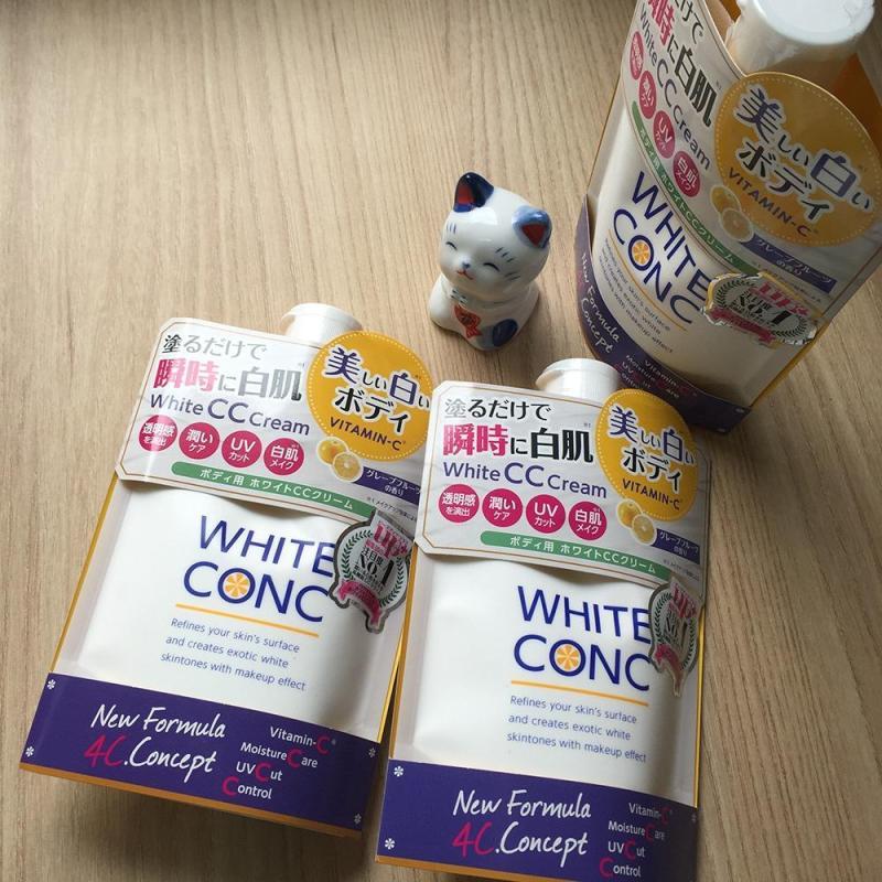 KEM DƯỠNG TRẮNG WHITE CONC CREAM NHẬT BẢN nhập khẩu