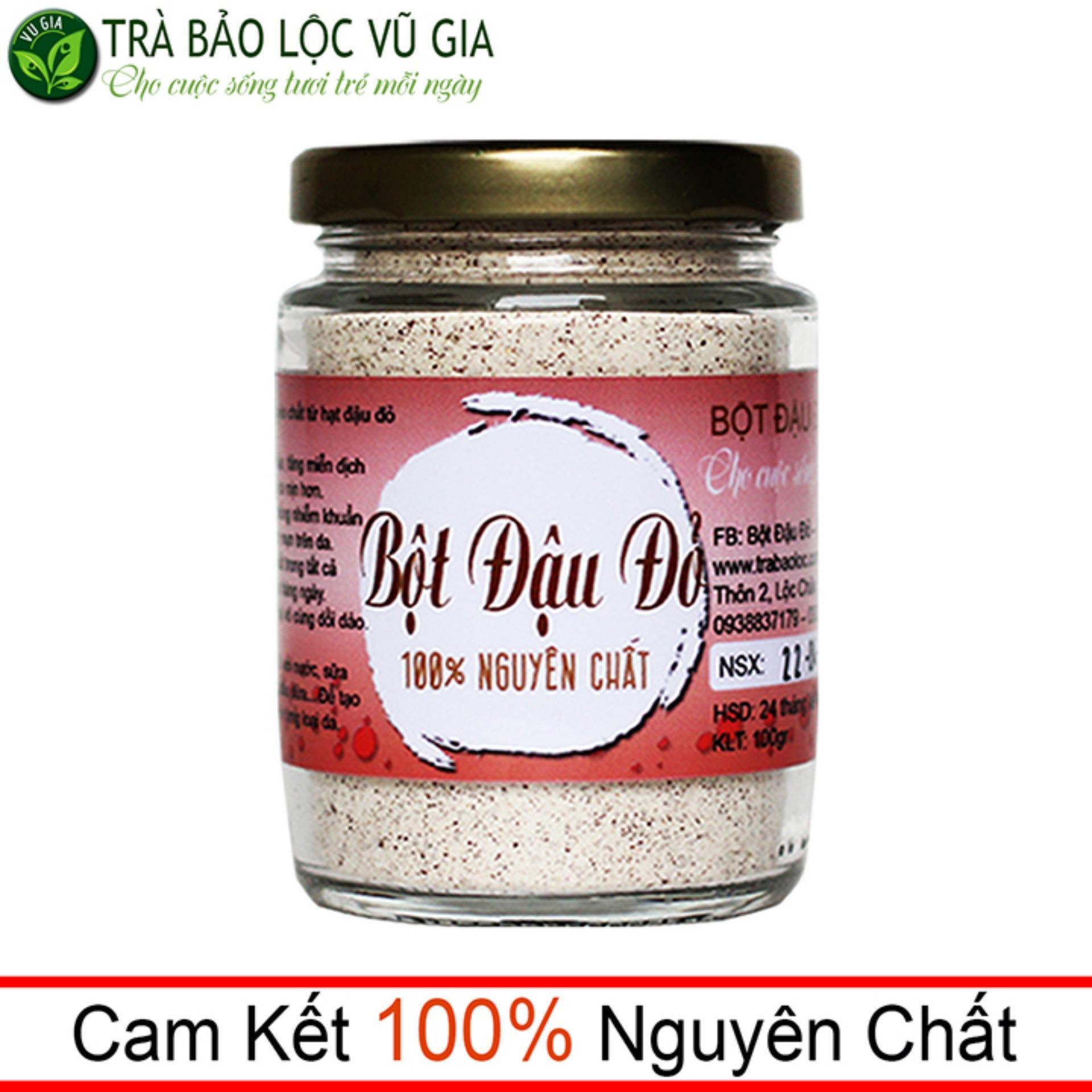 Bột Đậu Đỏ Nguyên Chất VG (100gr/ml/ hũ)