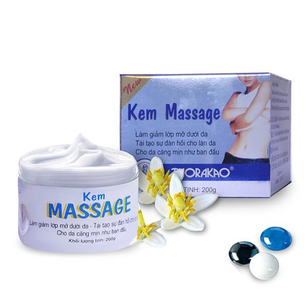 Ôn Tập Kem Massage Tan Mỡ Thorakao 200G Thorakao