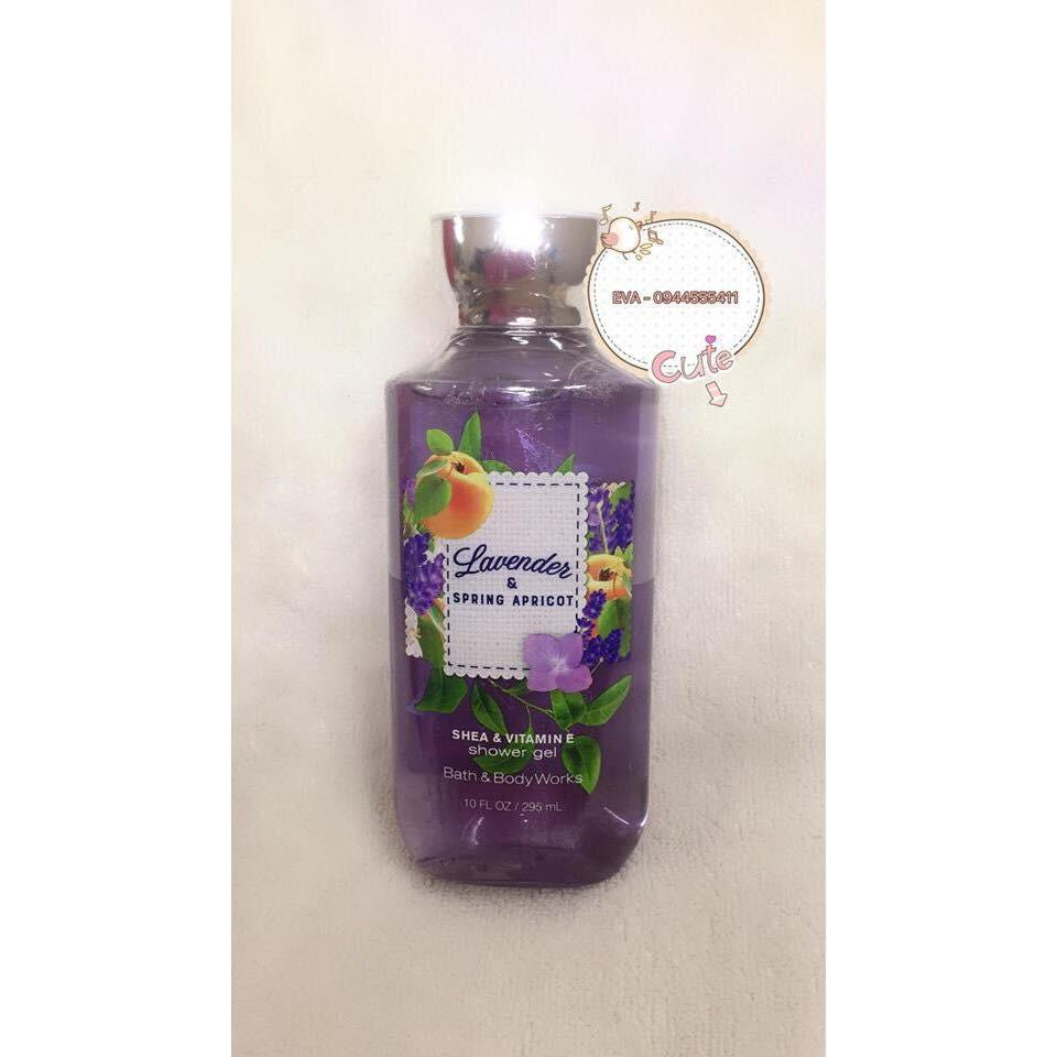 Mua Sữa Tắm Bath And Body Works Lavender And Spring Apricot 295Ml