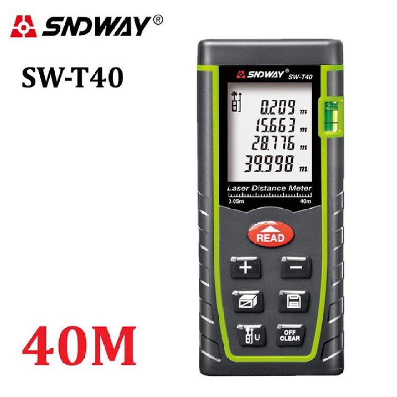 Thước đo lazer 40m SNDWAY SW-M40