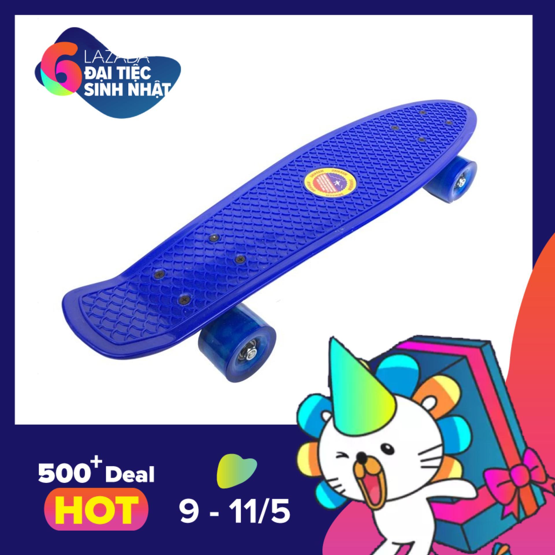 Ôn Tập Trên Van Trượt Skateboard Penny Xanh