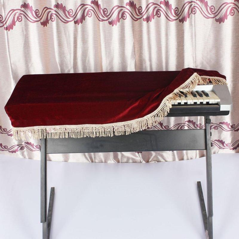 E-ERA Đàn Piano Bảo Vệ Mềm Mại Đàn Piano Bao Da Bàn Phím cho 61 Phím Đàn Piano Điện Tử