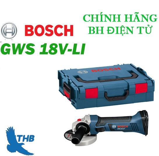 Máy mài góc dùng pin Bosch GWS 18V-LI SET