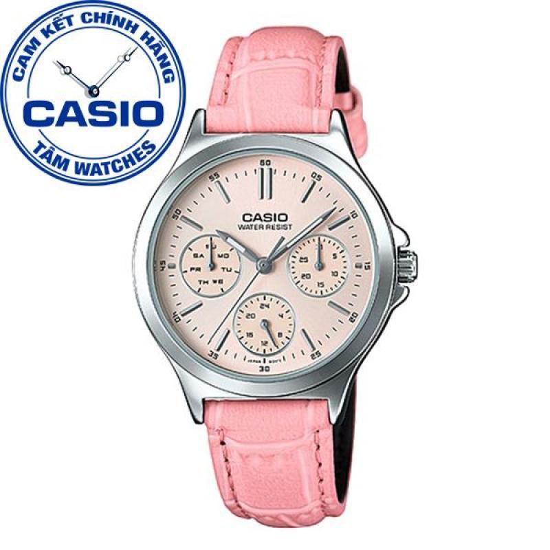Nơi bán Đồng hồ nữ dây da Casio Standard Anh Khuê LTP-V300L-4AUDF