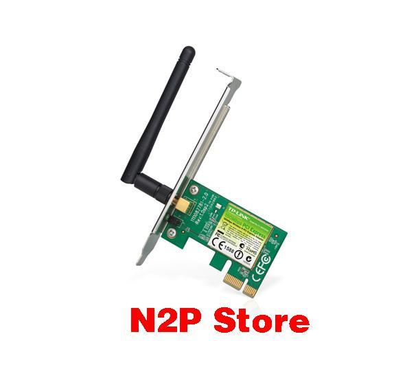 Card mạng không dây Tplink TL-WN781ND PCI Express tốc độ 150Mbps