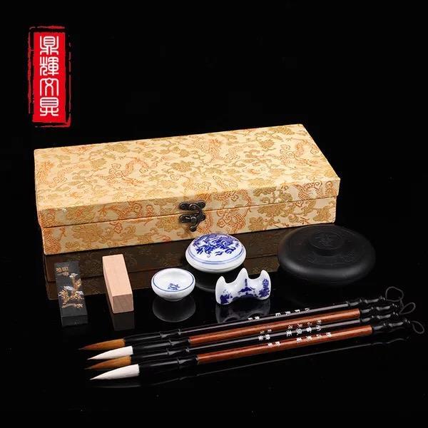 Mua [Tặng vải ma thuật trị giá 50k] Văn Phòng Tứ Bảo - Bộ sản phẩm tập viết tiếng Trung, tập viết thư pháp đầy đủ tứ bảo