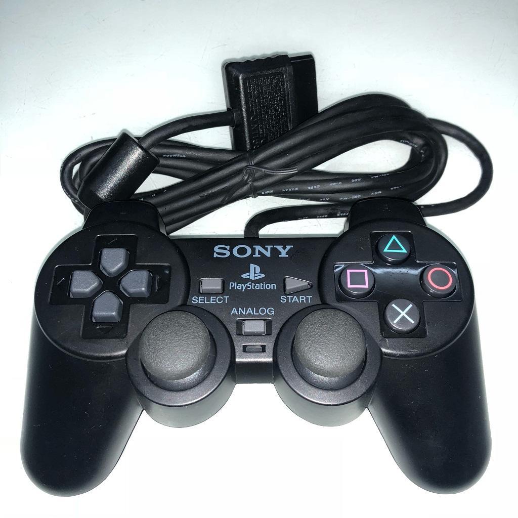Tay cầm máy PS2 Model M cao cấp (Đen)
