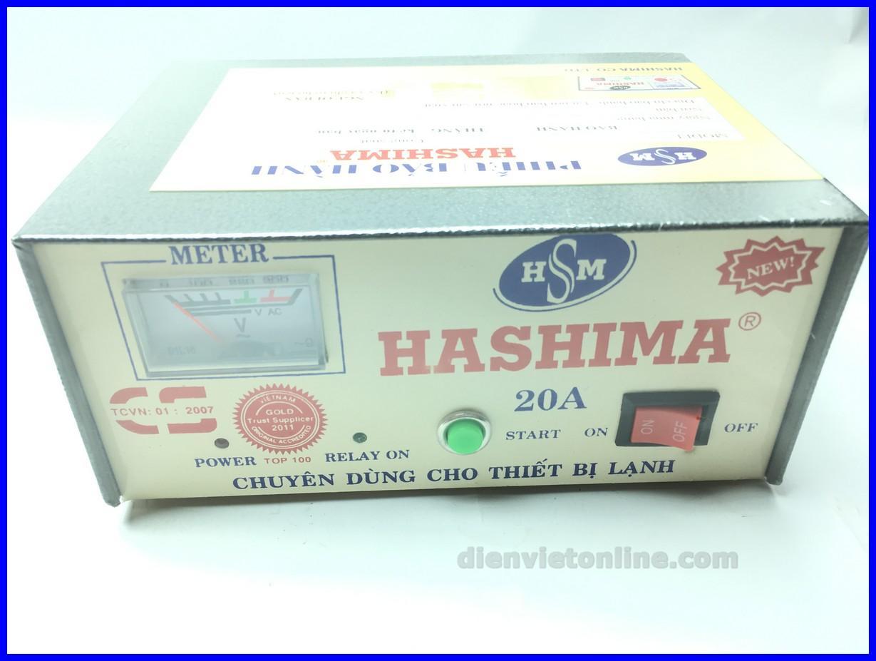 Relay, thiết bị bảo vệ tủ lạnh, ổn áp tủ lạnh cao cấp 10A Hashima - Điện Việt