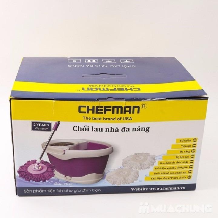 BỘ LAU NHÀ INOX 360 ĐA NĂNG CHEFMAN