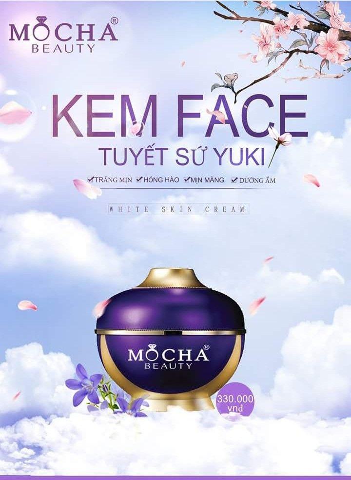 Face vip tuyết sứ Mocha