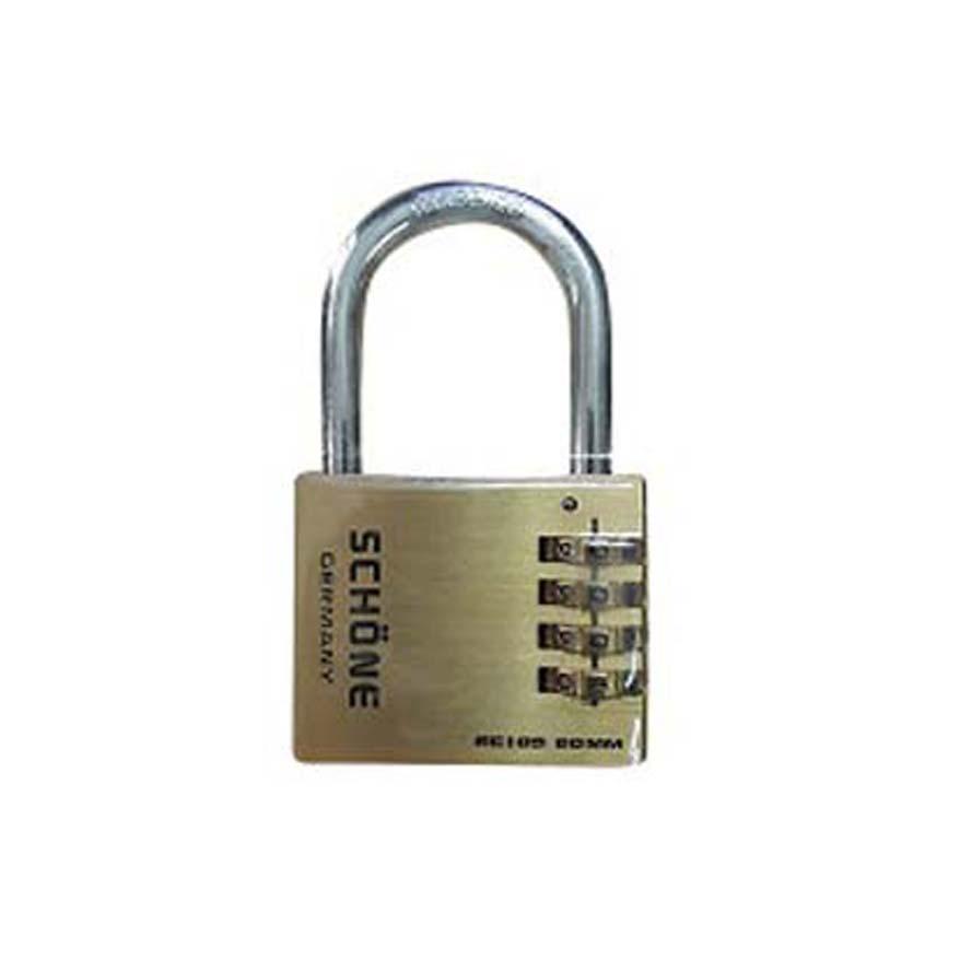 Ổ khóa mã số dọc 60mm nguyên khối cao cấp Schone ( Có thể thay đổi mã khóa ) - Huy Tưởng