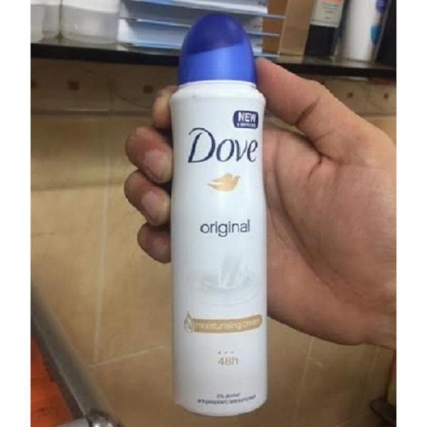 Xịt khử mùi Dove 150ml - ORIGINAL cao cấp