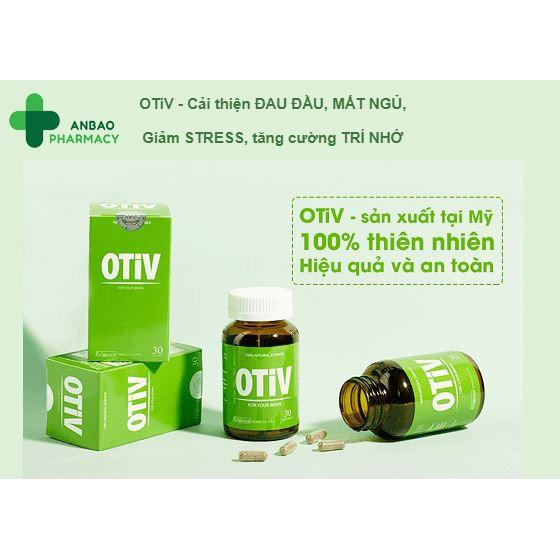 OTIV - giúp cải thiện trí nhớ, đau đầu