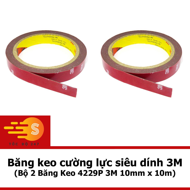 Bộ 2 Băng Keo 4229P 3M 10mm x 10m COMBO2 4229P-10