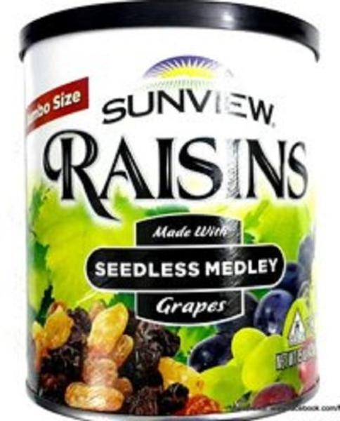 Nho Khô Mỹ Sunview Raisins 425g (Nho thập cẩm)