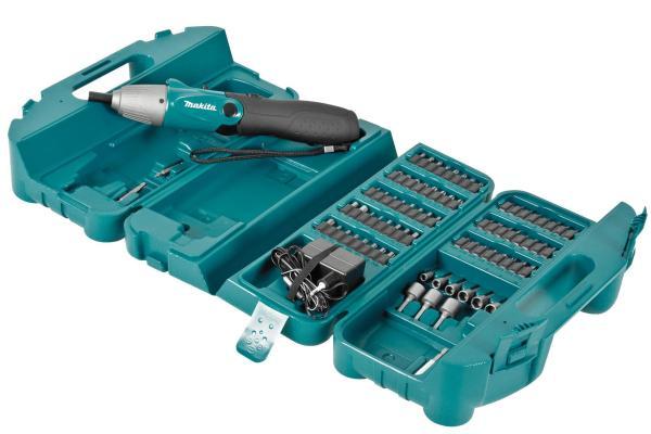 Máy vặn vít dùng pin 4.8V Makita 6723DW Chất liệu cao cấp Thiết kế chuyên dụng Tốc độ không tải 220 vòng/phút Bảo hành 6 tháng