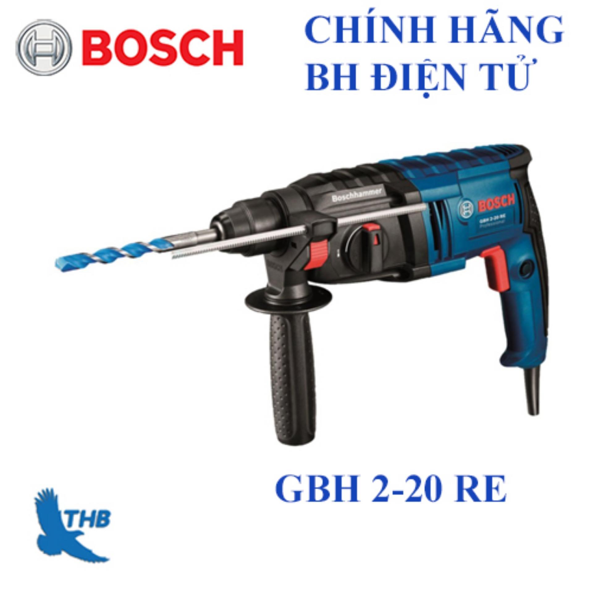 Máy khoan búa Bosch GBH 2-20 RE