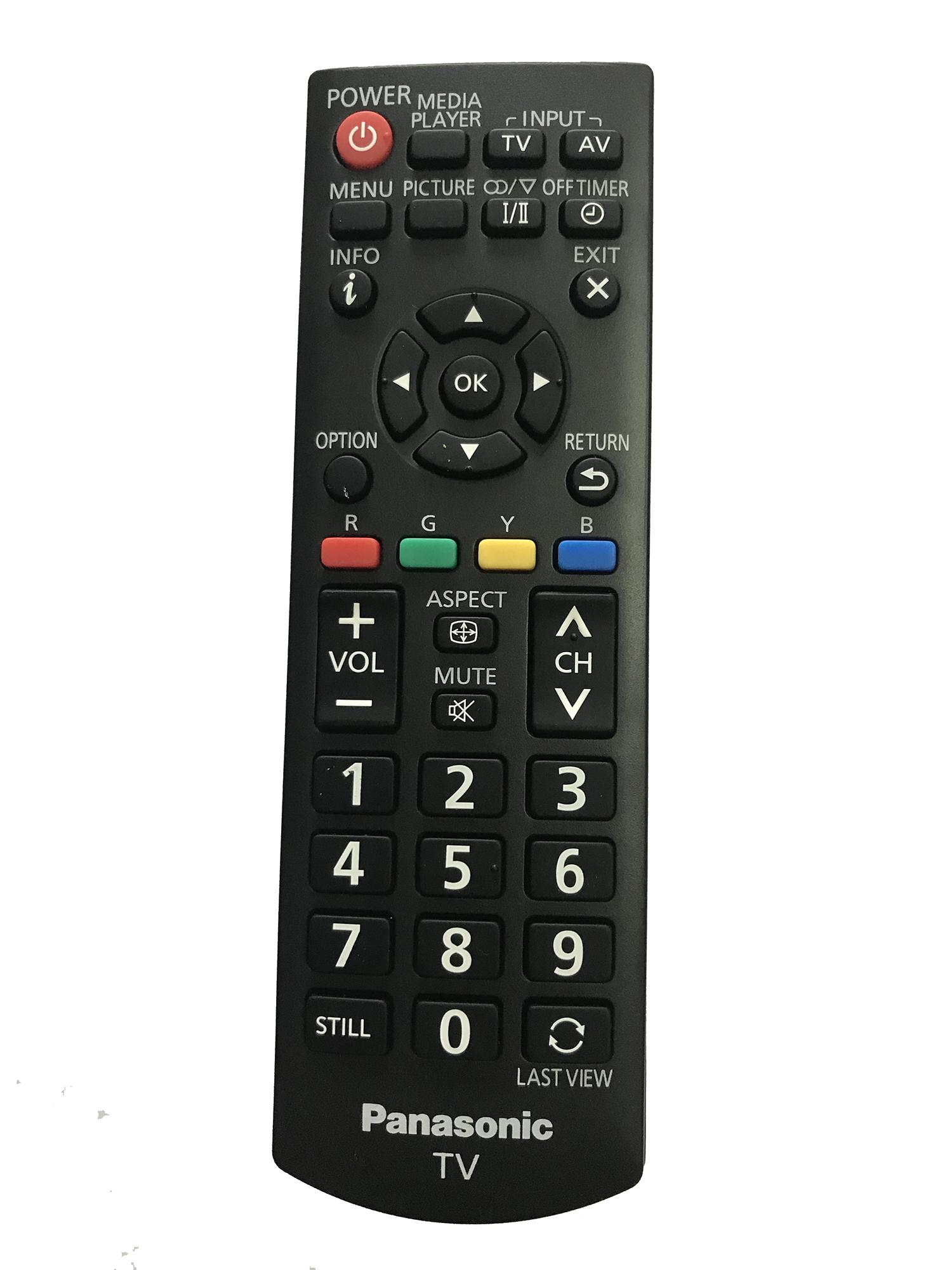 Bảng giá Điều khiển tivi panasonic LCD (đen)