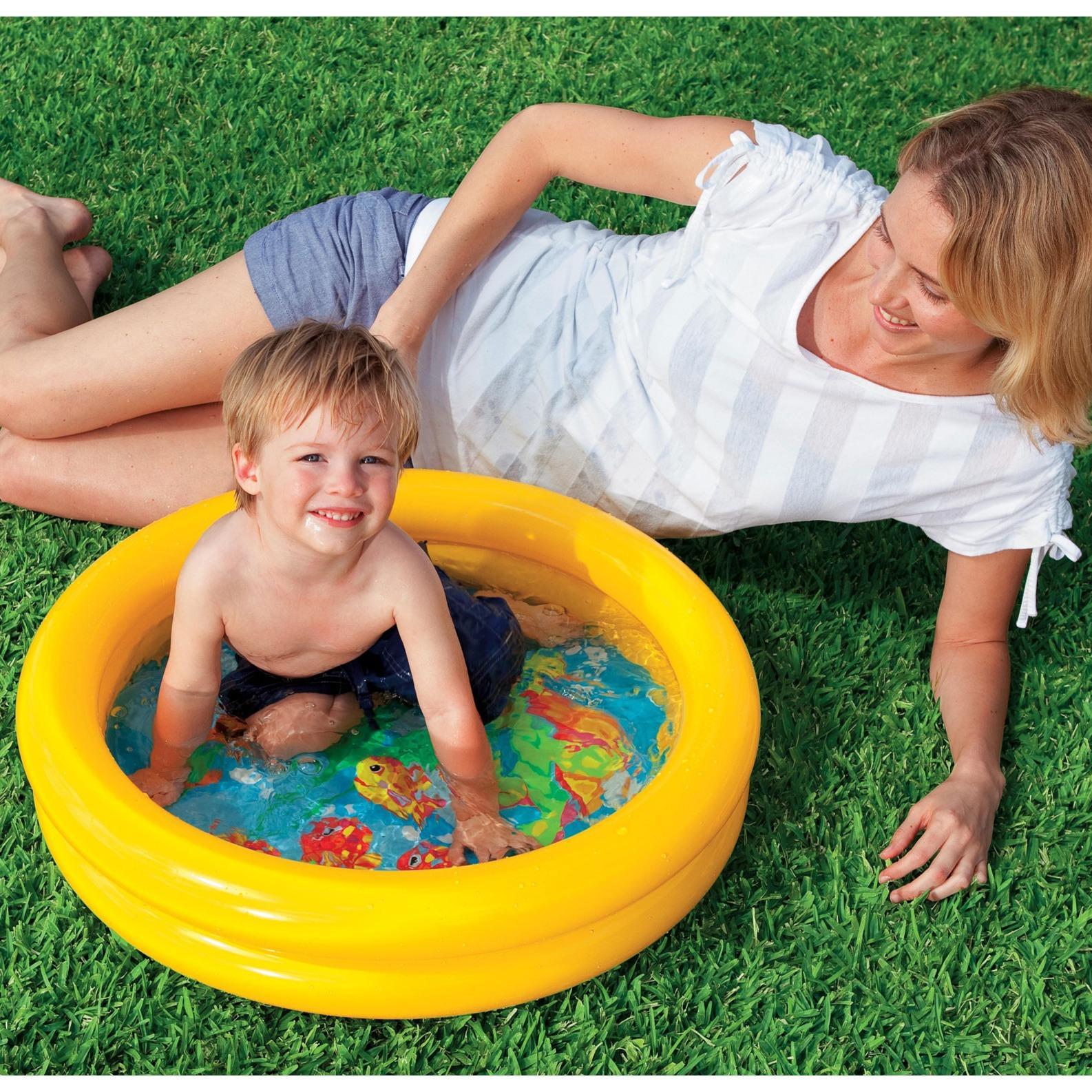 Hình ảnh Bể bơi cho trẻ em Intex Việt Hiếu KT 61x15 (59409)