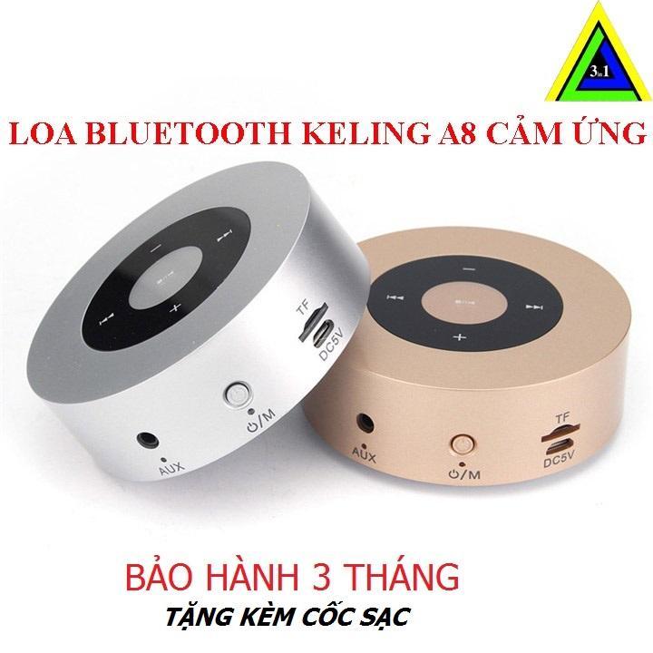Cửa Hàng Tặng Cốc Sạc Loa Di Động Bluetooth Speaker Keling A8 Gold Bạc Keling Trong Hà Nội