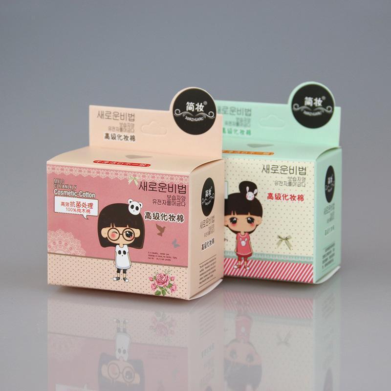 Hộp bông tẩy trang Hàn Quốc dạng cuộn 600 miếng nhập khẩu