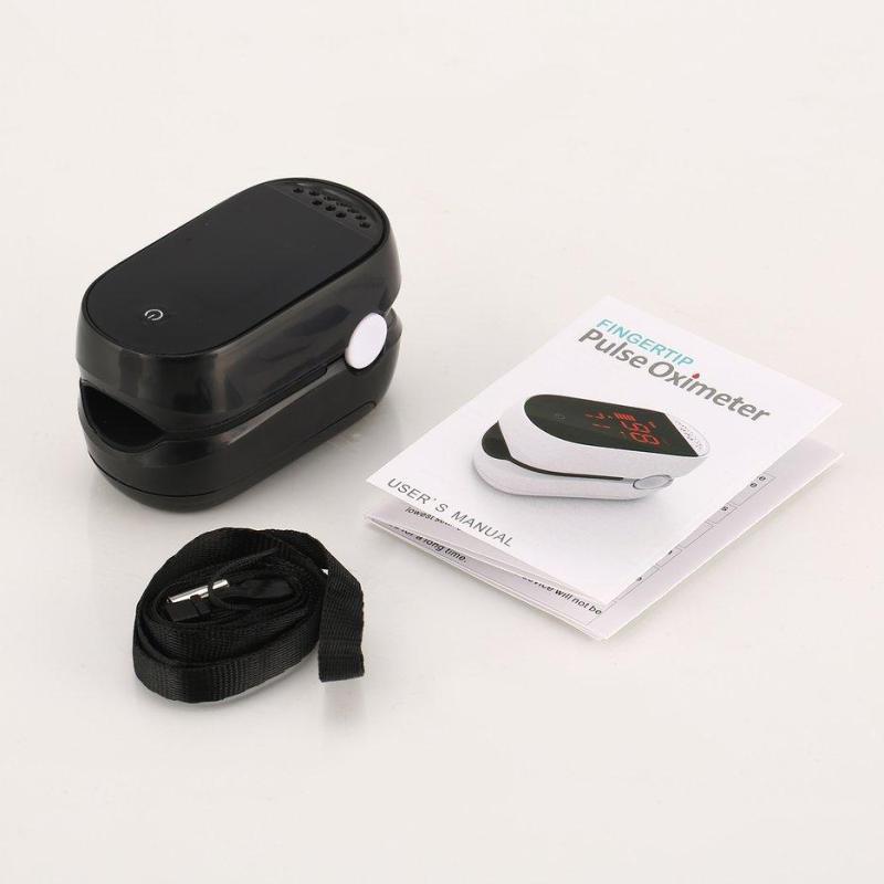 Nóng Người Bán ĐÈN LED Đầu Ngón Tay Pulse Oximeter Độ Bão Hòa Ôxy Máu Màn Hình Ngón Tay SpO2 bán chạy