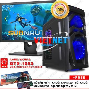 - Máy tính VNGame intel G4600 GTX-1050Ti Ram DDR4-8GB Hdd 500GB + Dell 22 inch