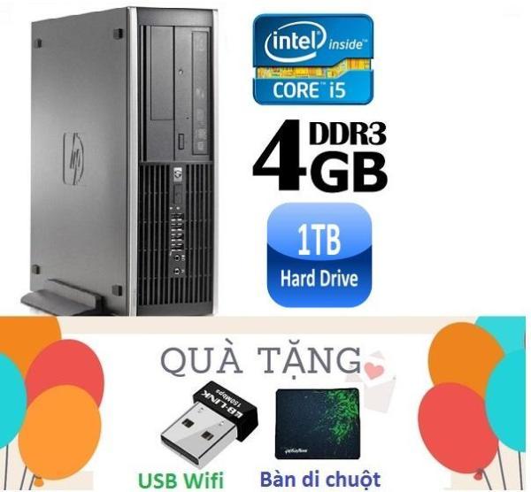Bảng giá Máy tính đồng bộ HP Elite 8200 SFF ( CPU i5 2400 / 4G / 1000G ) Tặng USB Wifi ,Bàn di chuột - Hàng Nhập Khẩu Phong Vũ