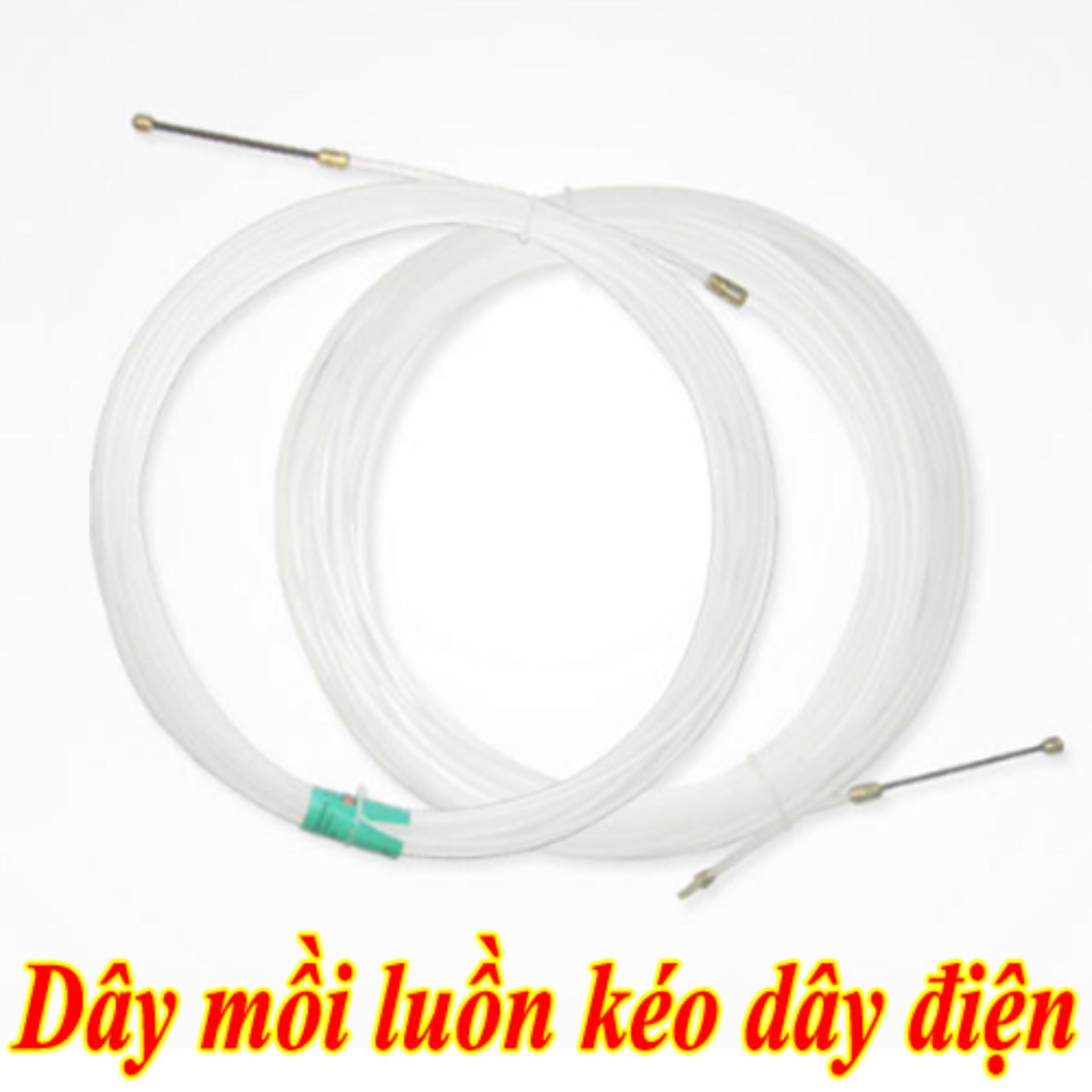 Bộ dây mồi luồn dây điện xây dụng cao cấp 30m - Huy Tưởng