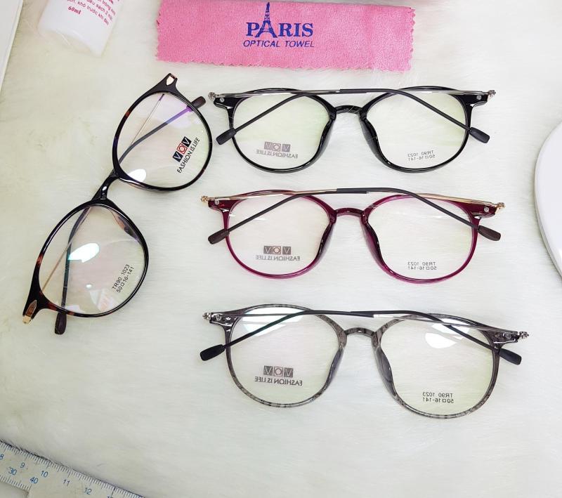 Giá bán Mắt kính cận / Giả cận NAM NỮ ( KÍNH BẠN MINH TRONG PHIM GẠO NẾP GẠO TẺ) càng thanh mảnh kèm hộp