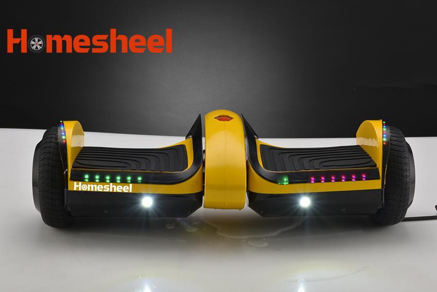 Giá bán Xe điện cân bằng Homesheel F1 USA Phiên bản 2019 - Vàng mơ