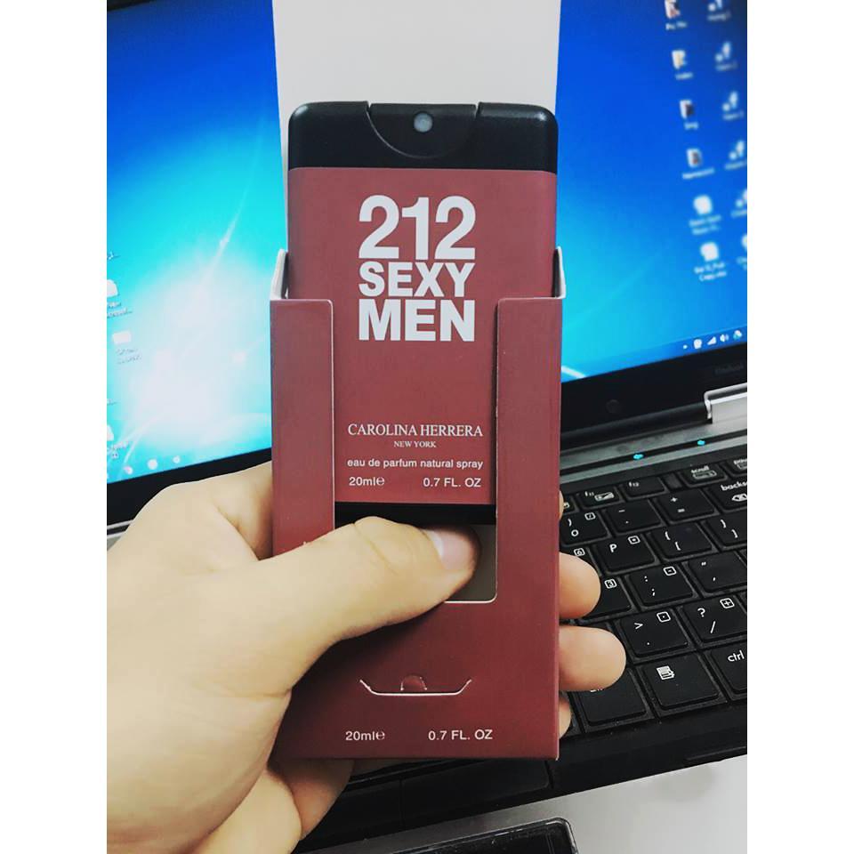 Giá Bán Nước Hoa Nam 212 S*xy Men Namcard 20Ml Nước Hoa Mini Chiết Phap Việt Nam