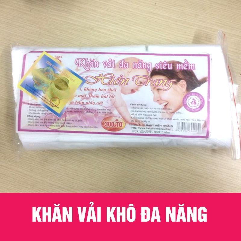 Combo 6 gói khăn giấy khô đa năng( 300g 1 gói)