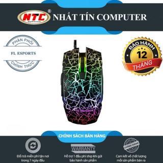 [HCM]Chuột chuyên game cao cấp FL Esports G50 DPI 3200 - Led RGB 7 màu (Đen) - Nhất Tín Computer thumbnail