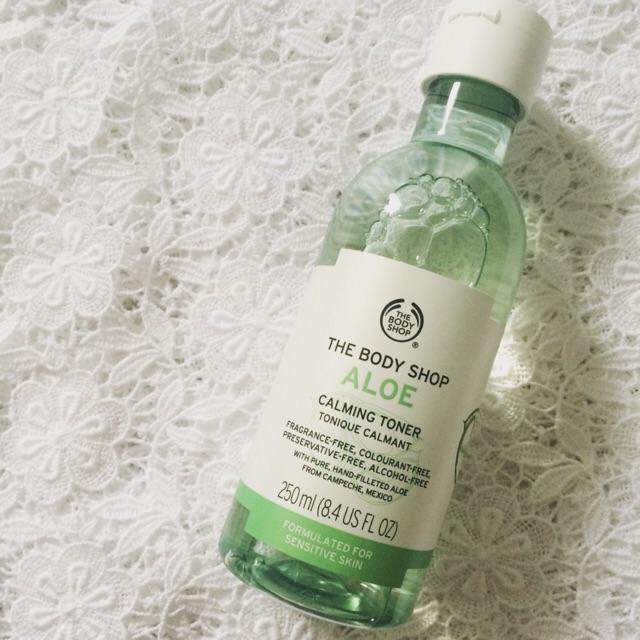 Nước hoa hồng The Body Shop Aloe Calming Toner chính hãng