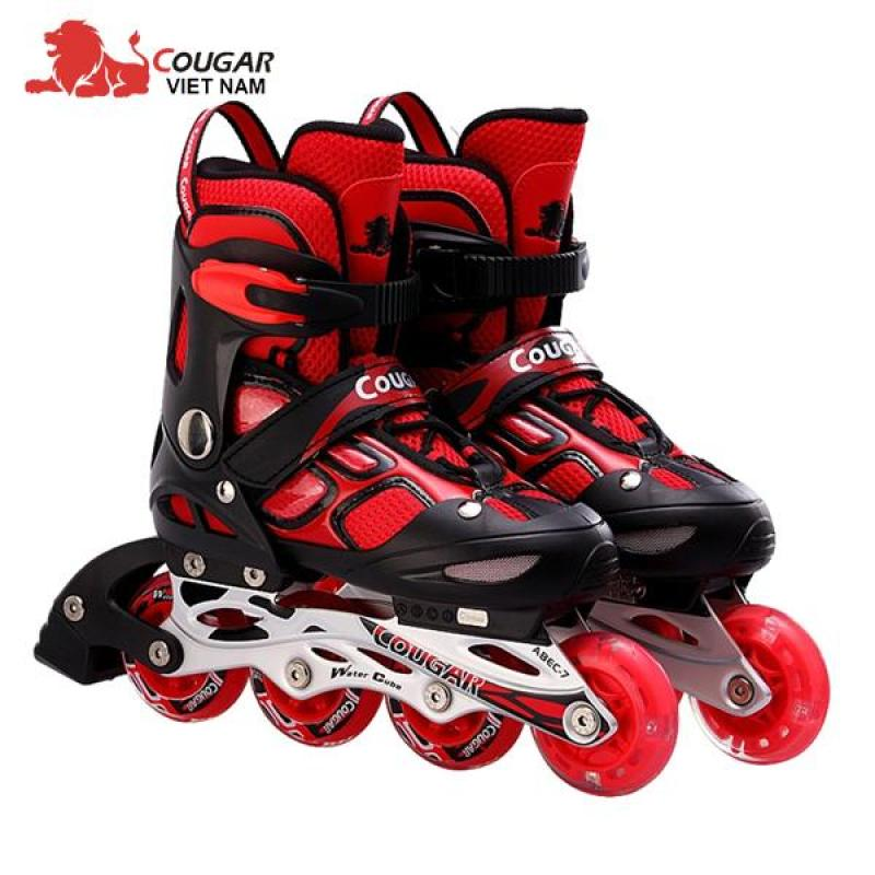 Phân phối Giày trượt Patin Cougar cao cấp có đèn 835LSG thể thao nhiều màu ĐỒ TẬP TỐT
