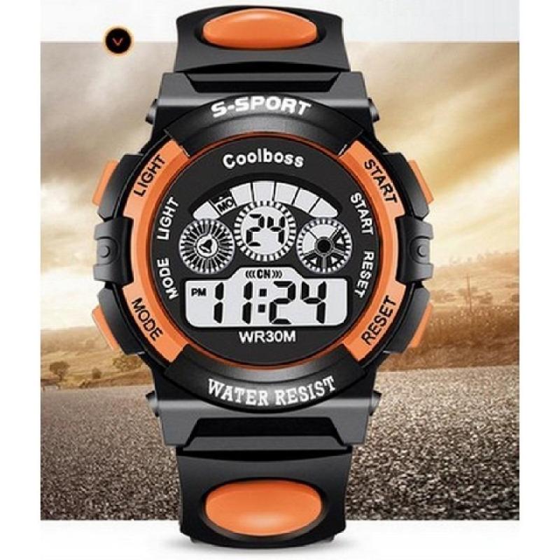 Nơi bán Đồng hồ bé trai W01-C màu cam giá tốt