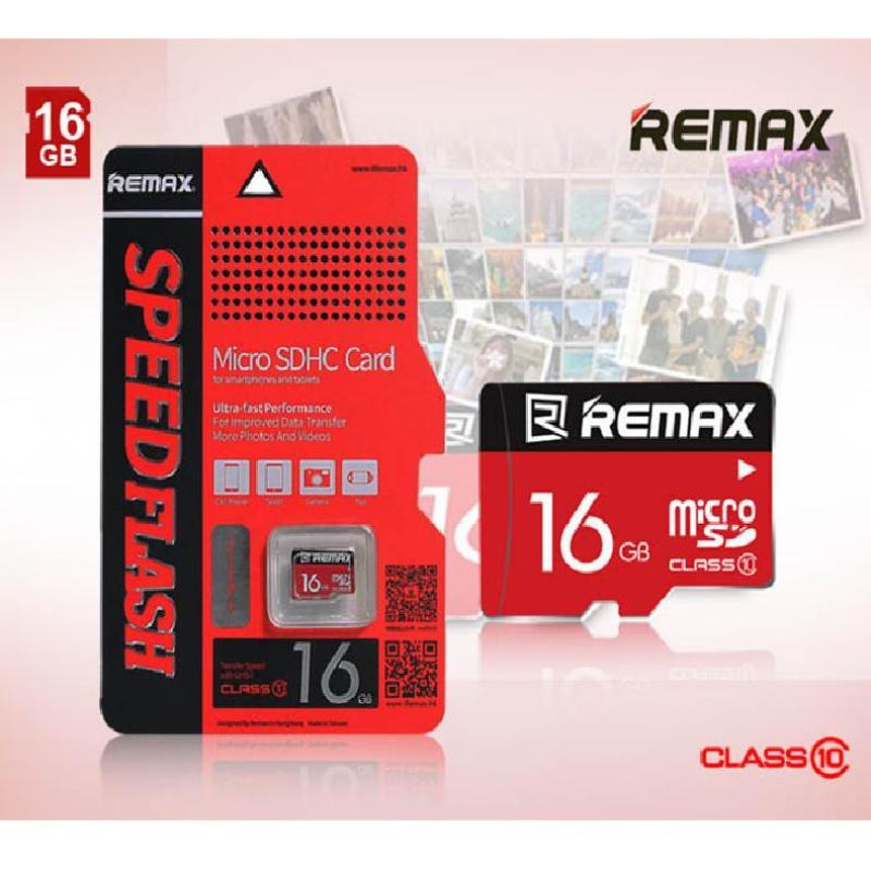 Thẻ nhớ MicroSD Remax 16Gb tốc độ Class 10 chuyên dụng cho camera