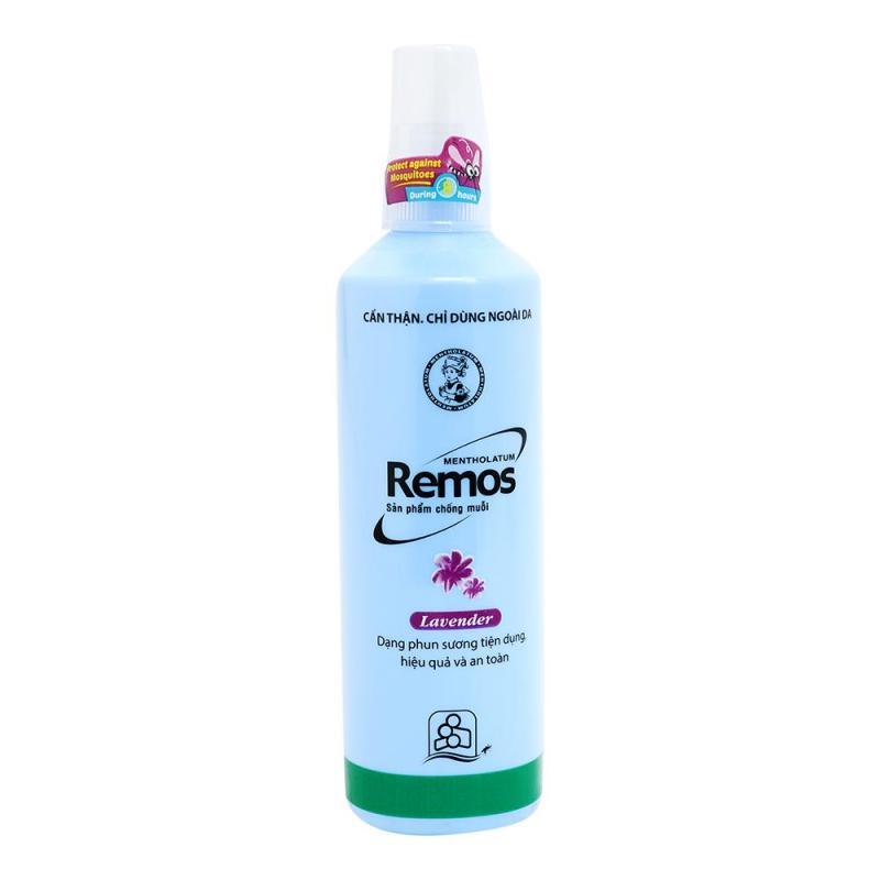 Xịt chống muỗi Remos 60ml giá rẻ