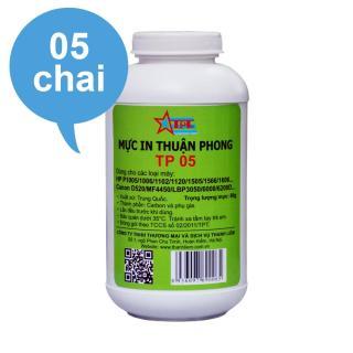 (BỘ 5 CHAI) Mực đổ Thuận Phong TP05 dùng cho máy in HP P1005 1006 thumbnail
