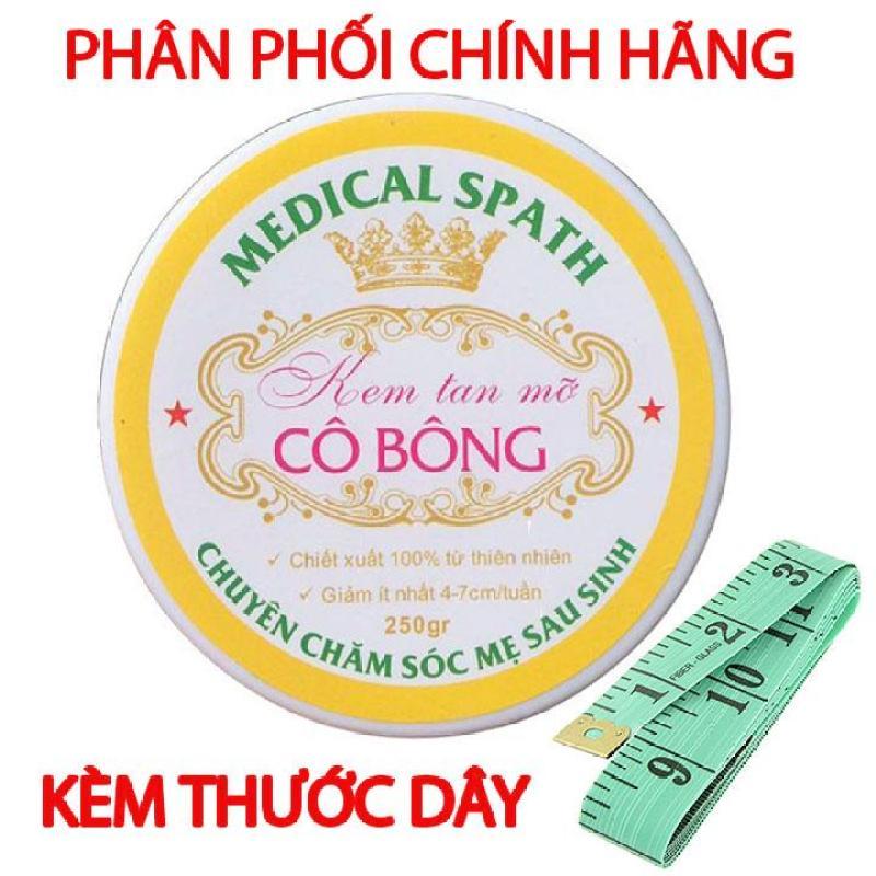 Kem tan mỡ Cô Bông giúp giảm mỡ bụng kèm Thước Dây nhập khẩu