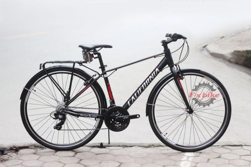 Phân phối Xe đạp đường phố California chất liệu hợp kim nhôm nhẹ, cao cấp, bền đẹp, chịu lực tốt (Nhiều màu)