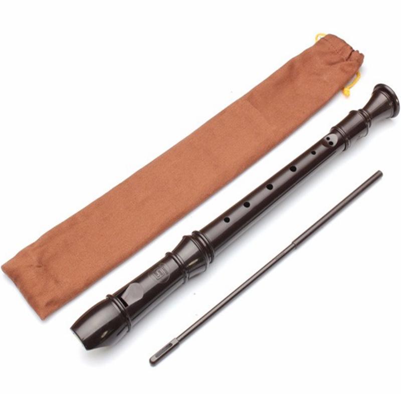 Sáo Recorder Soprano SRG-405 key G (Đen) 4TI 92