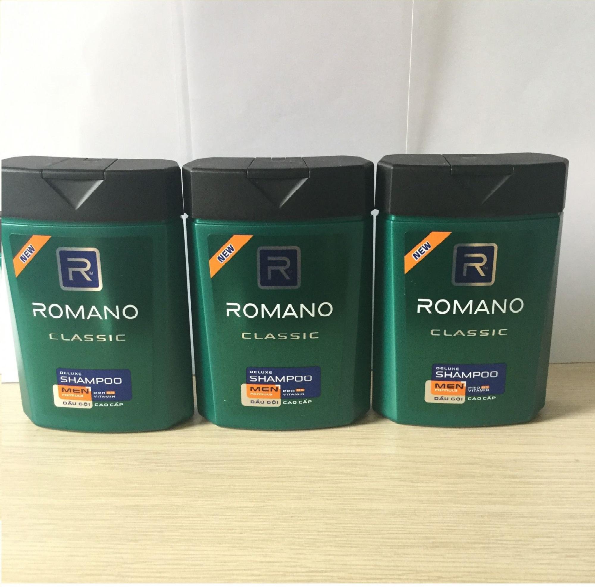 (NHH)  Combo 3 Dầu Gội Đầu Romano (100g/chai) nhập khẩu