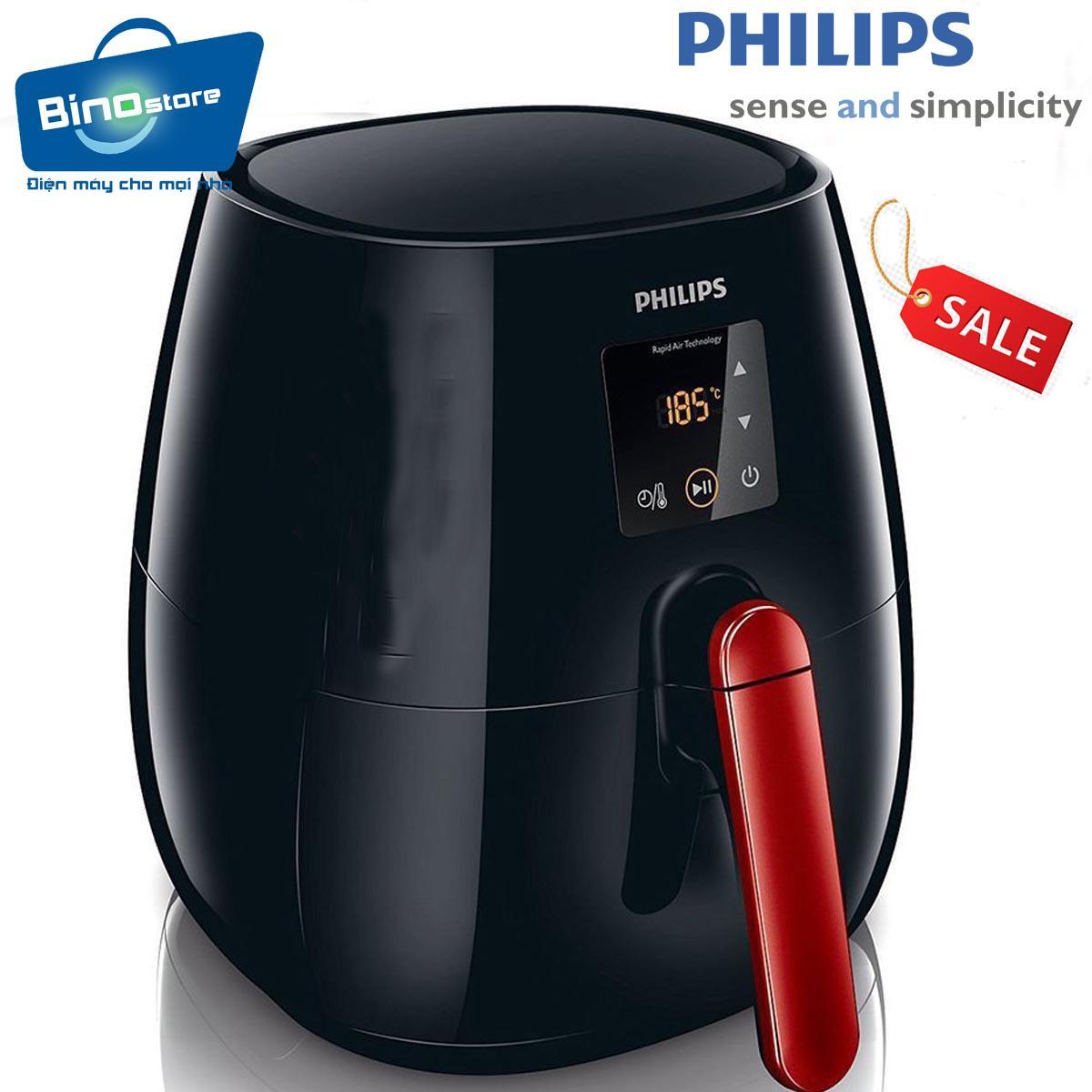 Hình ảnh Nồi Chiên Không Khí Điện Tử Đa Năng Philips Hd9238 - Hàng Nhập Khẩu(Đen)
