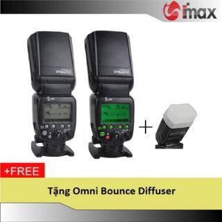 Đèn Flash Shanny SN600N For Nikon + Omni tản sáng thumbnail