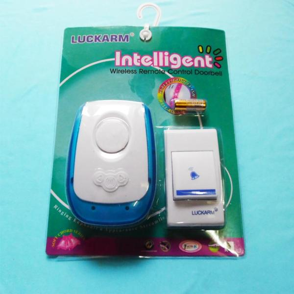 Chuông gọi cửa thông minh kết nối không dây LUCKARM 007X (trắng phối xanh)